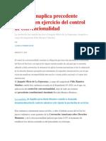Juzgado Inaplica Precedente Huatuco en Ejercicio Del Control de Convencionalidad