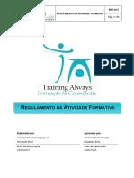MAF.02_2 - Regulamento Da Atividade Formativa