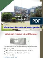 Sesion 9-2017-2-Vibraciones Forzadas Sin Amortiguador