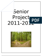 2011-2012 Senior Project Packet