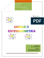 Estequiometria quimica II