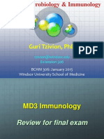 MD3 Immunology Final exam Review.pptx