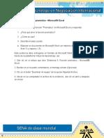 Evidencia 5 Funcion Pronostico