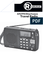 Radio Shack Shortwave Radio - 2000658