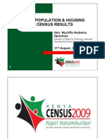 Kenyan Population and Housing Census  PDF