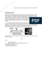 145757294 Flexural or Bending Test Lab Report