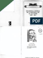 Estadística 1858-1860