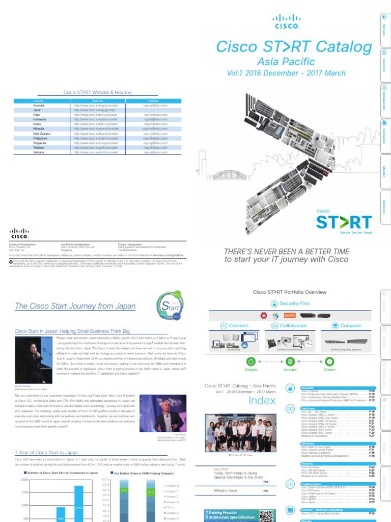 Cisco Start Catalog   Cisco Systems   Cloud Computing