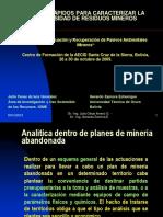Caracterización de PAM 5