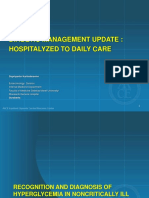 Diabetic Management Update, Hospitalyzed to Daily Care - Dr. Supriyanto Kartodarsono, SpPD