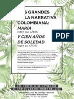 Dos grandes de la narrativa colombiana_exposición conmemorativa