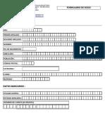 Formulario Socio - Plantilla para empresas