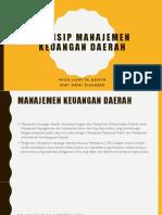 Ppt Prinsip Manajemen Keuangan Daerah