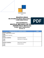 Modelo Para Elaboración de PET Bambas MONTAJE MECANICO