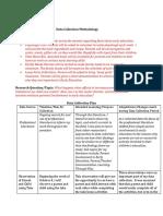 data collection methodology 1