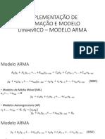 Implementação de Estimação e Modelo Dinâmico