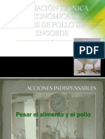 EVALUACIÓN TEC Y ECONÓMICA LOTE POLLOS 1.1
