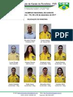 Delegação FKR - Pré-olímpico Nacional