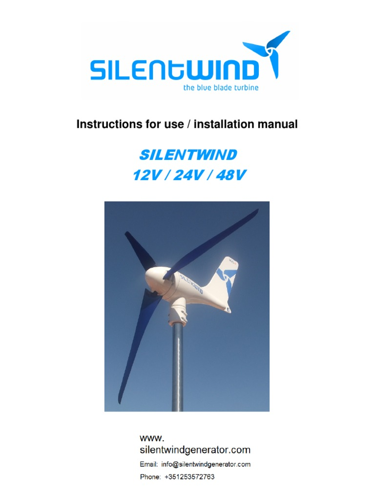 Wind Turbine Installation Manual Power Fuse Electrical Wiring Diagram