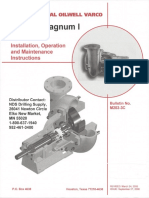 Mission Magnum 1 Parts Operation and Maintanence SELECCIONABLE