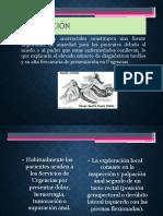 Urgencias Anorectales y Del Perine