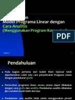 Kuliah 2 Riset Operasi 2013