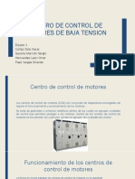 centro de control de motores baja tension