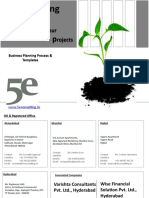 5e Consulting's Business Planning Process & Templates