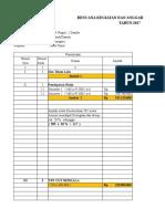 Rencana Kegiatan Dan Anggaran Sekolah (Rkas) Sma Negeri 1 Dander Tahun 2017