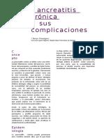43 Pancreatitis Cronica y Sus Complicaciones