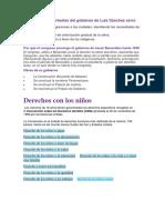 Los Hechos Importantes Del Gobierno de Luis Sánchez Cerro AMI