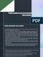 Pertumbuhan Ekonomi Regional