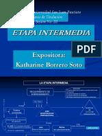 Sesion No. 02 a La Etapa Intermedia