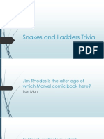 snakes and ladders trivia