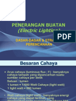 Penerangan Buatan (Electric Lighting)