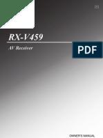 Yamaha Amp RX-V459B