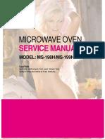 Service Manual Ms-198h