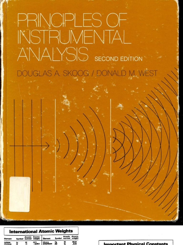 Principles of Instrumentation Skoog Capacitor