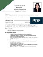 CV OF SHAILA [ME]