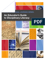 -An Educator's Guide to Disciplinary Literacy,- NYC DOE Publication
