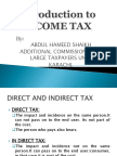 Income Tax Introduction Final