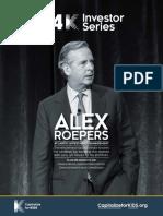 Alex Roepers - C4K Investor Series