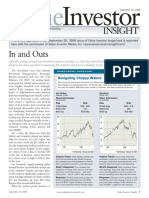 2008-09-30 in and Outs - Value Investor Insights