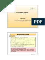Active Filter Circuits