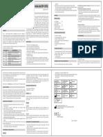 1.5.2.3.00102 Reagent Insert Kit CRP