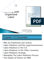Working with Organized Labor