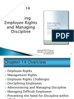 Respecting Employee Rights and Managing Discipline