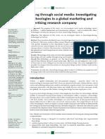 2012 Adamovic Knowledge Sharing Through Social Media