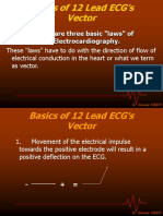 Vector Basics of 12 Lead ECG s
