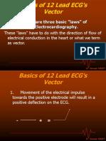 Vector Basics of 12 Lead ECG s